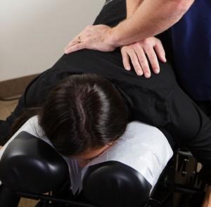 chiropractic adjustment mother